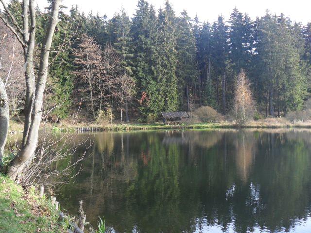 Der idyllisch gelegene Wulstteich
