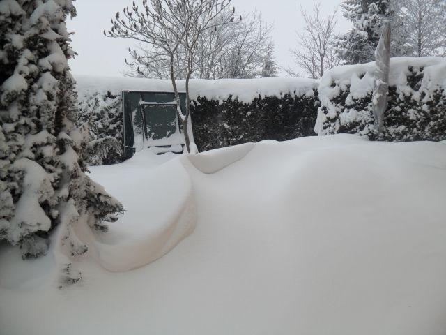 Ordentlich Schnee!