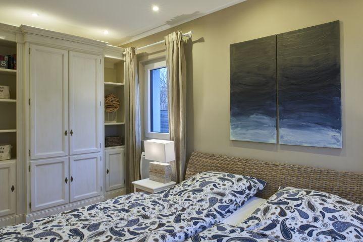 Das Elternschlafzimmer in Rattan Weiß