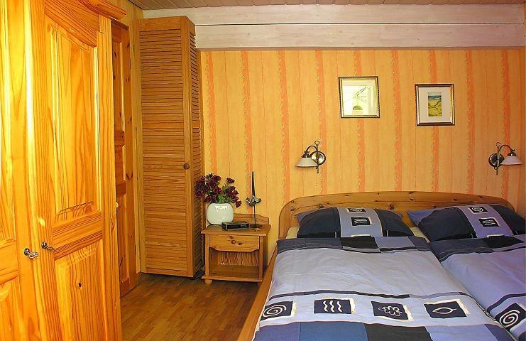 Schlafzimmer der 40qm Wohnung