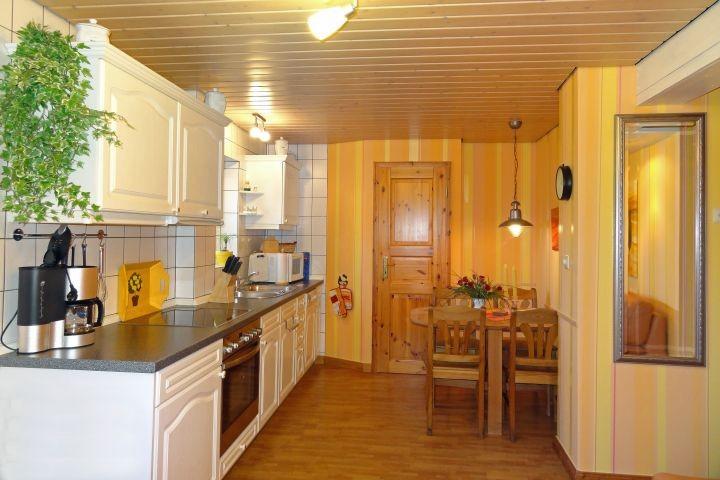 Küche der 40qm wohnung