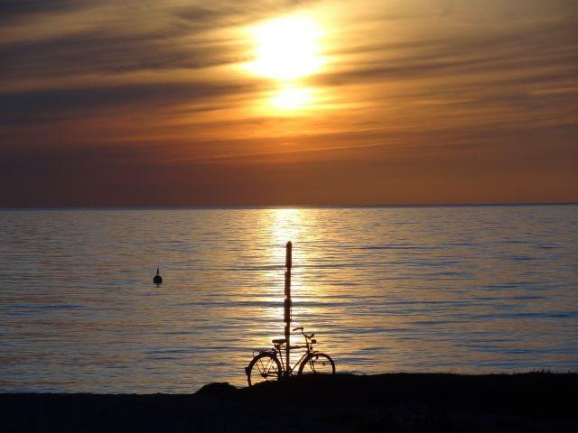 Sonneuntergang am Bojendorfer Strand