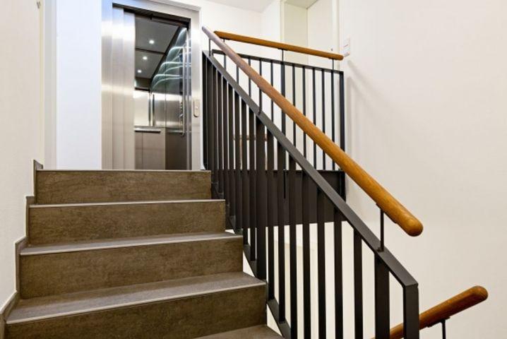 Fahrstuhl im Appartementhaus