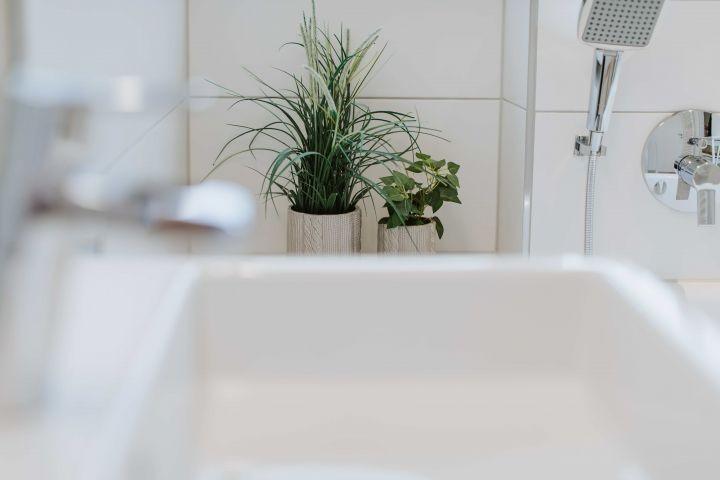 Die Badewanne im OG