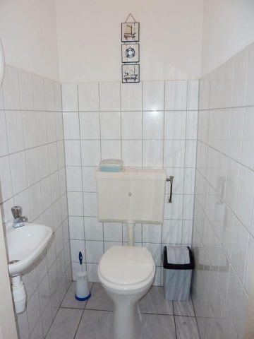 Separate Toilette im EG