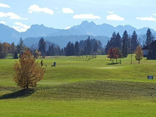 Umgebung und Golfplatz vor der Haustüre