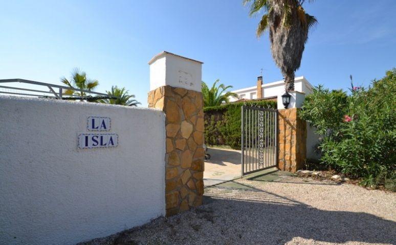 Eingang Finca La Isla