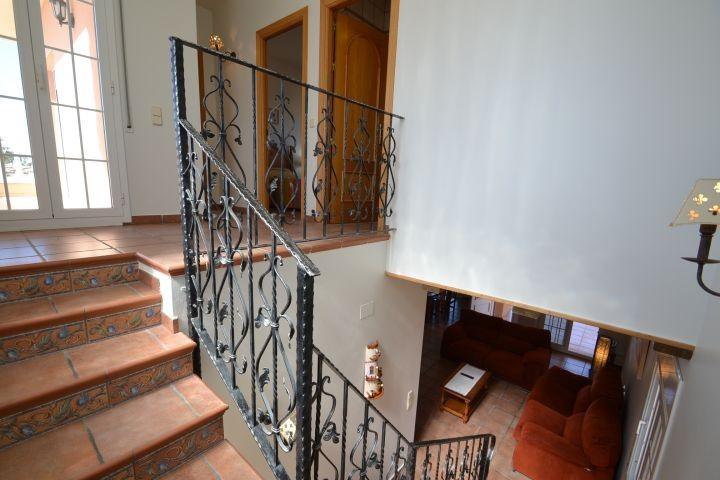 Treppe in die 1. Etage