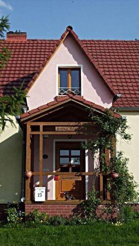Der Haupteingang zu der Dachwohnung