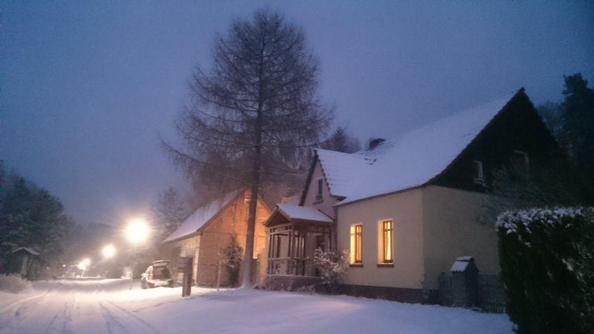 Großmenow im Winter