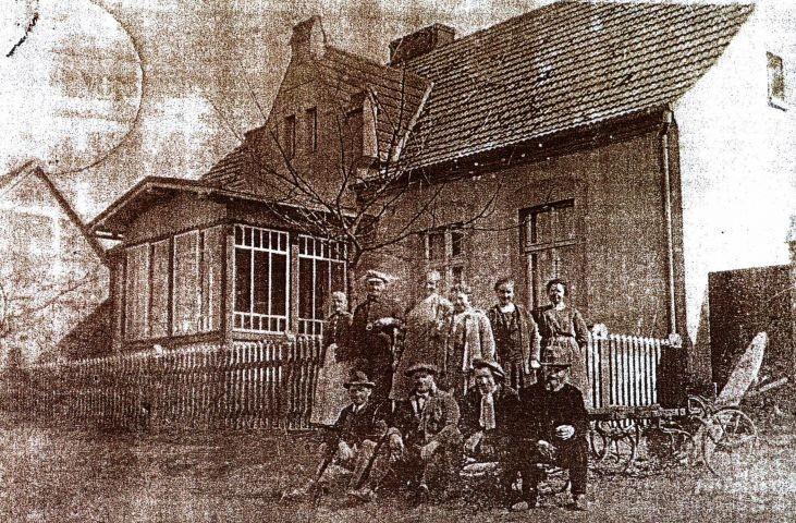 Die Familie Zimmermann wohl vor dem 2. Weltkrieg