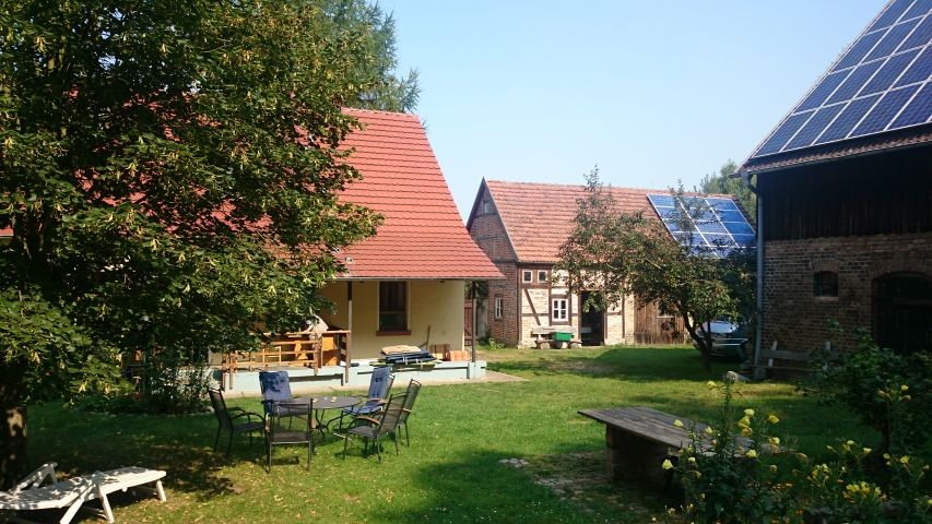 Der Innhof des Forsthauses