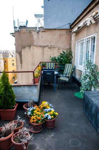 Östliche Terrasse