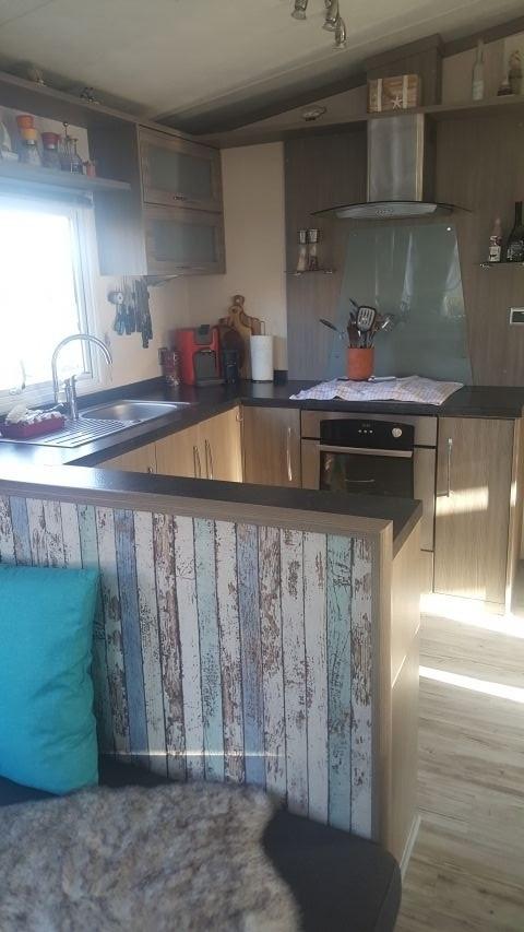 offen gestalteter Küchenbereich