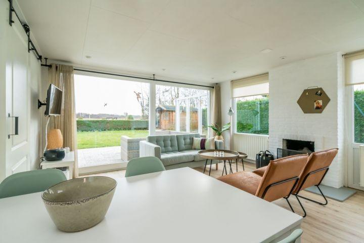 Das helle, gemütliche Wohnzimmer