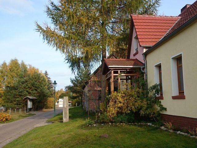 Das Forsthaus am Radweg Berlin - Kopenhagen gelegen