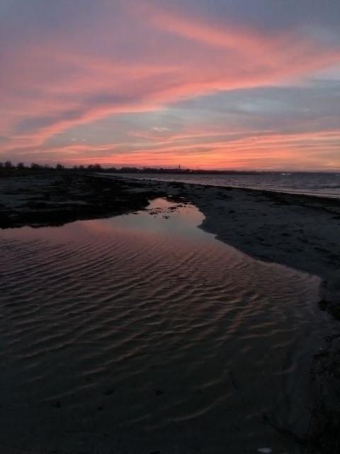 Sonnenuntergang im Januar: unfassbar schön
