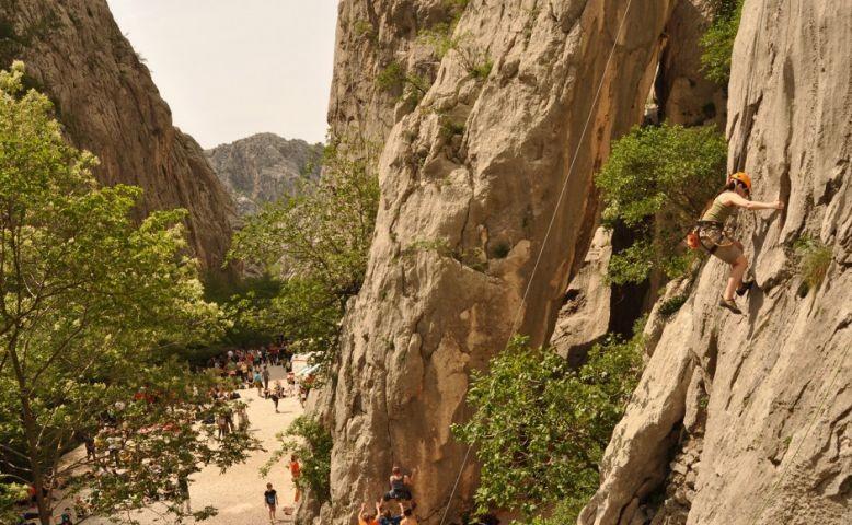 Paklenica Klettern