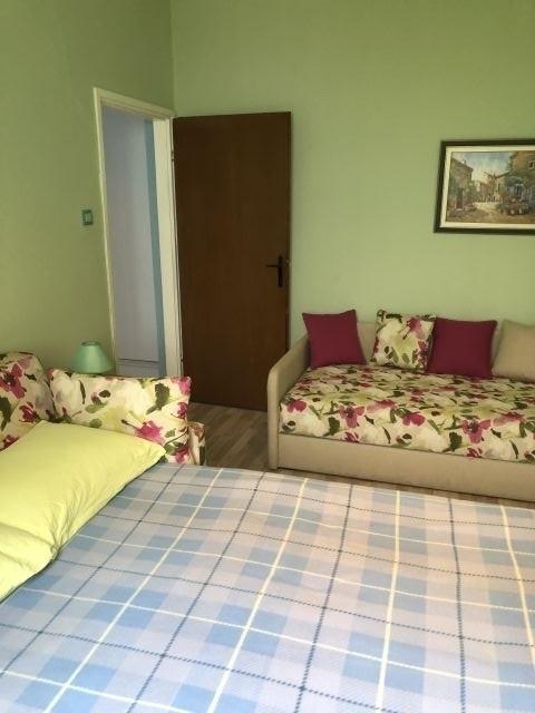 Schlafzimmer, Doppelbett, Einzelbett