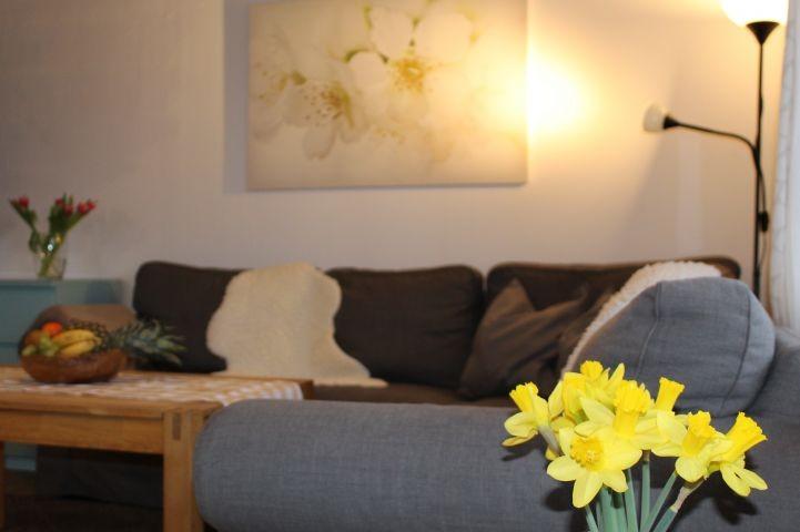 Richtig ausstrecken auf dem geräumigen Sofa