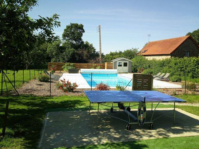 Gemeinschaftlicher beheizter Pool (10m x 5m, 28 Grad Mai-Sept)
