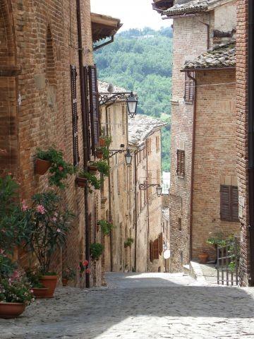 Sarnano, unser Nachbarort