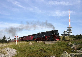 Brocken mit Harzquerbahn