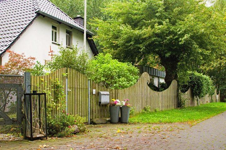 Unser Wohnhaus m. Anbau (Fewos)