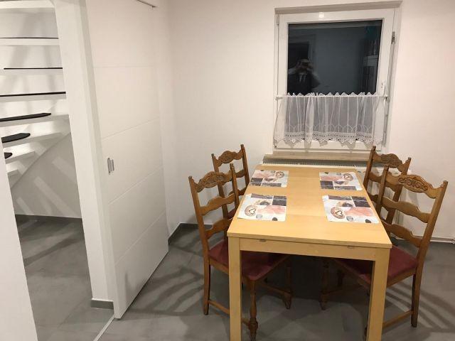 Eßbereich neben der Küche