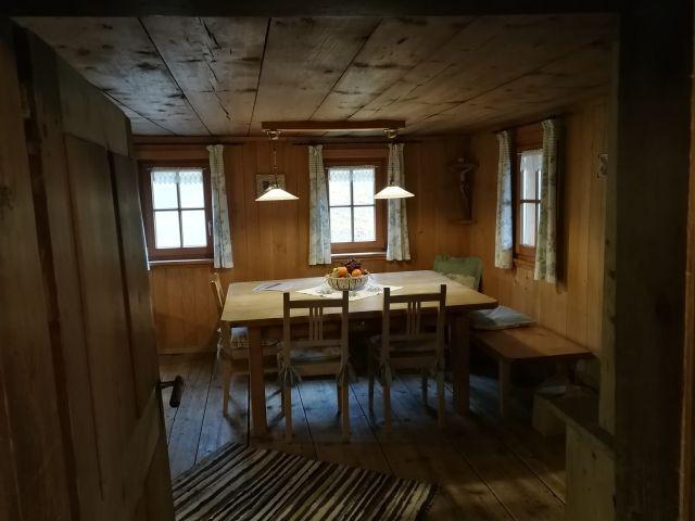 von der Küche in die alte Stube EG
