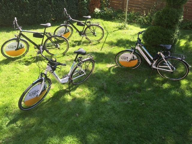 Fahrräder zu kostenlosen Nutzung