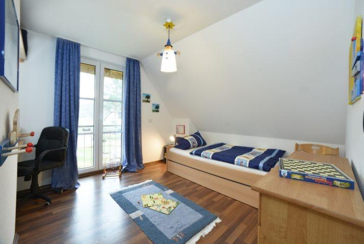 Kinderzimmer mit Kojenbett (2. Bett ausziehbar)