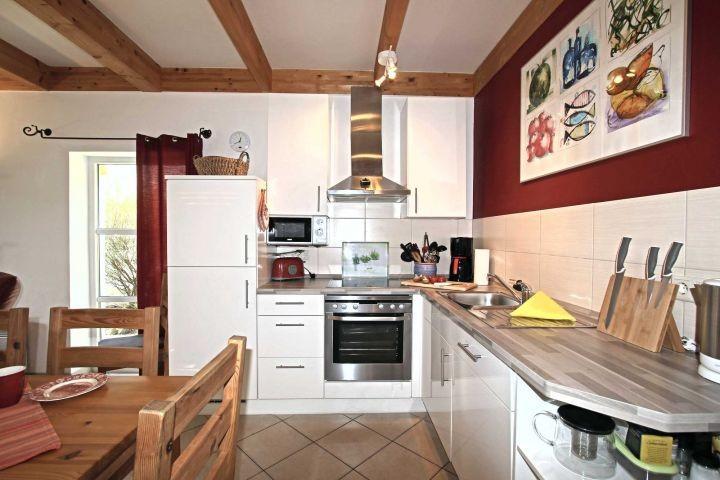 Unsere Küche ist mit allem ausgestattet was das Herz begehrt