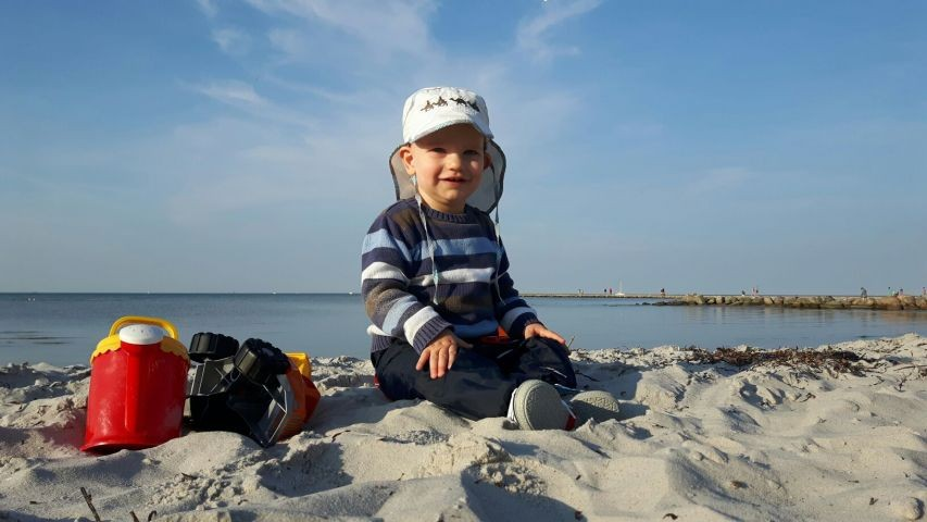 Am Strand in Mardorf