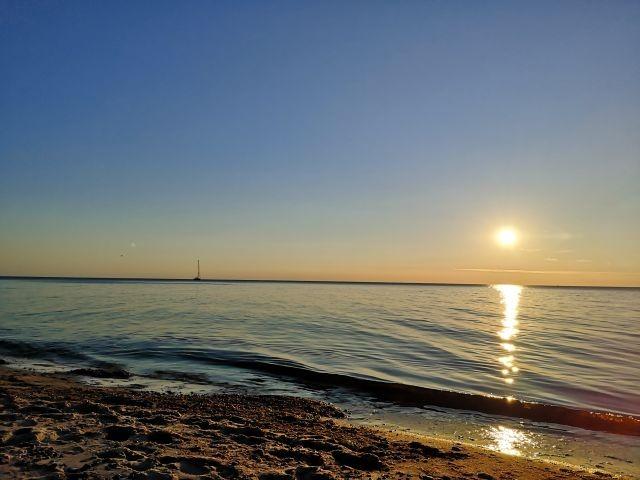 Sonnenuntergang am Strand 1