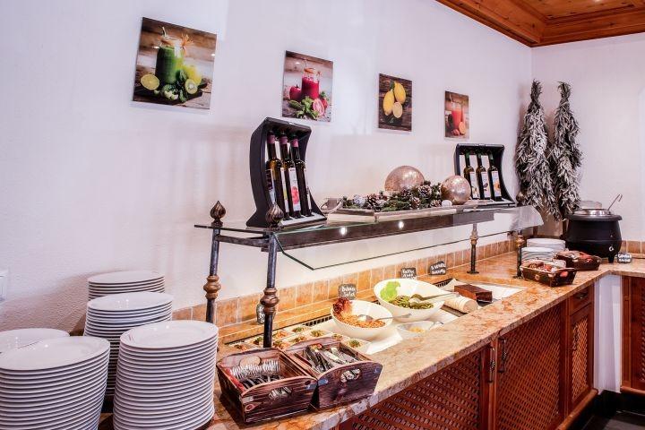 Genießen Sie unser Nachmittagsbuffet im Rahmen unserer 3/4 Verwöhnpesnion