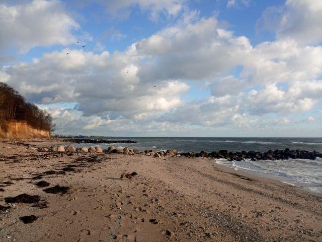 Ostsee unten am Strand
