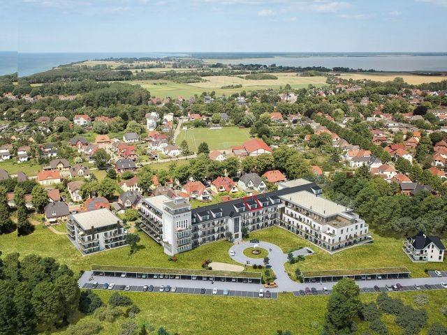 Urlaub zwischen Bodden und Ostsee, Apartmentanlage Zwei Wasser