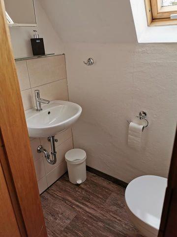 Blick ins WC
