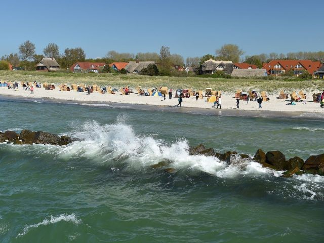 Der Strand von Wustrow