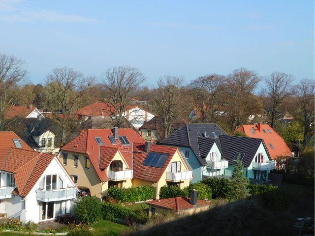 Blick über die Dächer von Wustrow