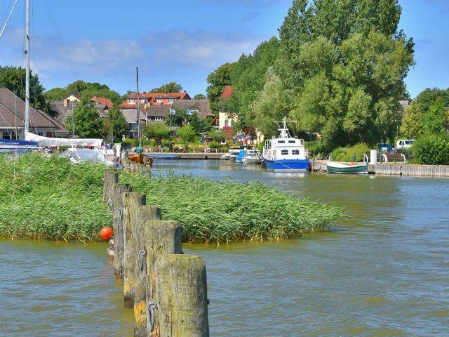 Der Hafen von Wustrow