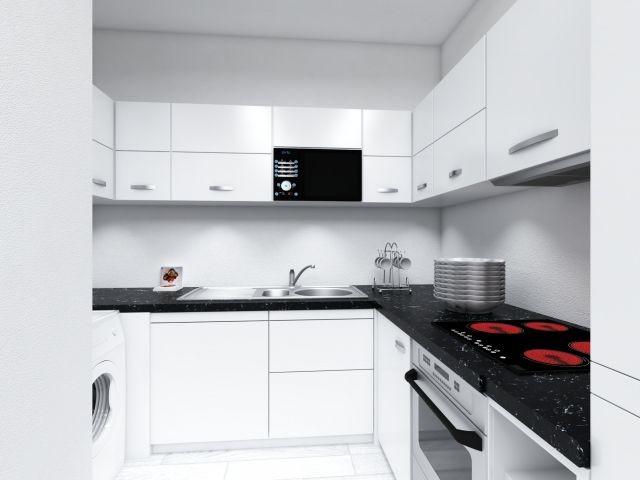 Nolte-Einbauküche mit Zahlreicher Ausstattung