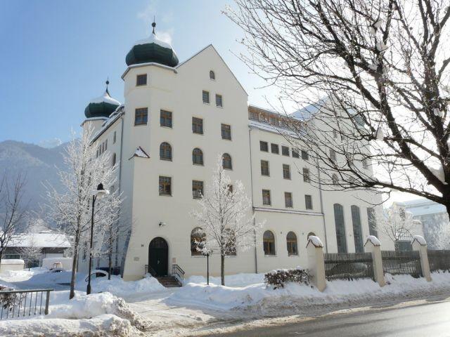 Ansicht Haus Castello im Winter