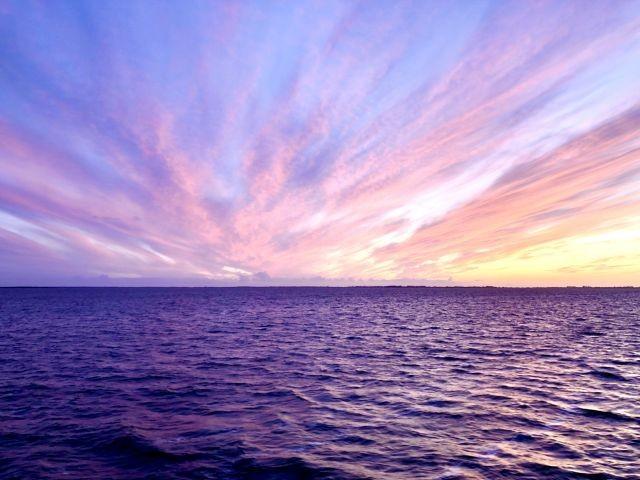 Ostseefeeling mit Sonnenuntergang
