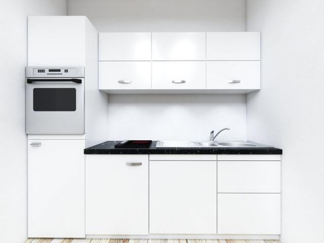 Vollausgestattete Nolte-Einbauküche der Wohnung