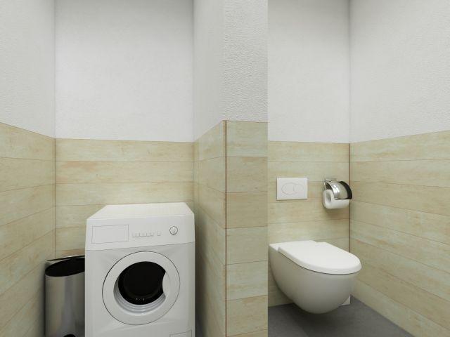 Badezimmer im Standhaus-Stil