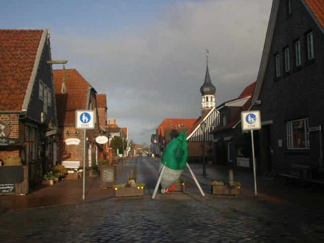 Hier finden Sie eine kleine gemütliche Fußgängerzone