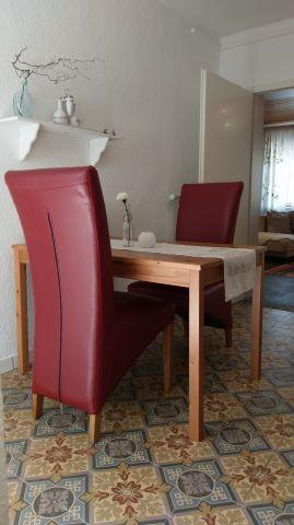 Der Sitzbereich in der Küche