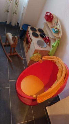 Spielbereich in der Ferienwohnung für die kleinen Gäste